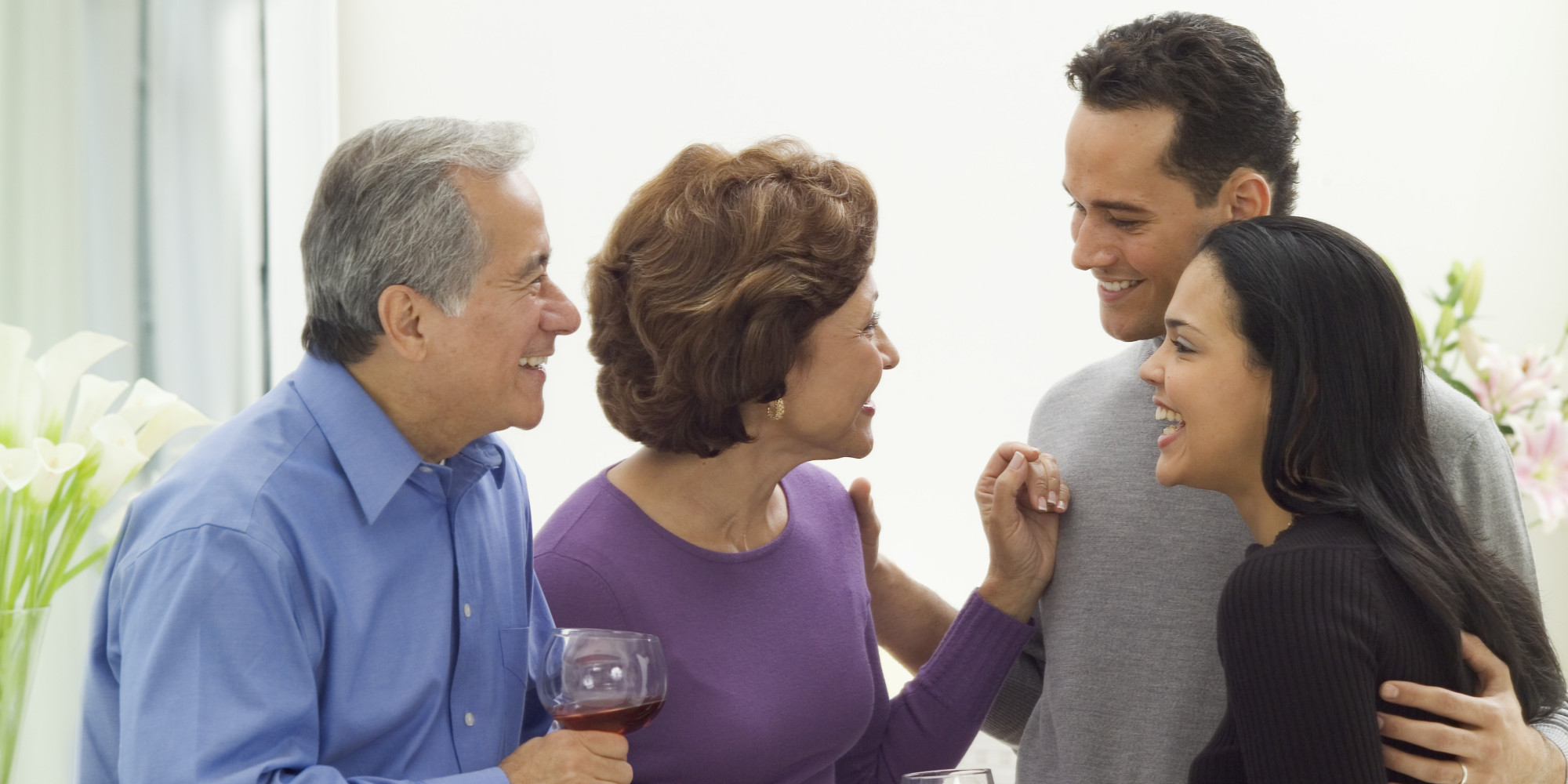 Image of man with in-laws
