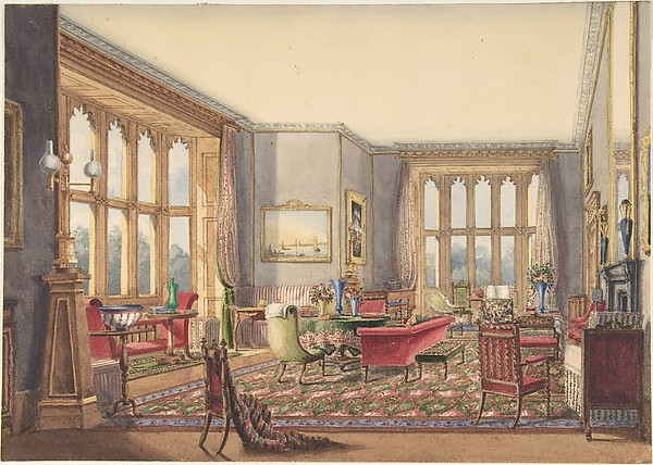 Shall We Repair To The Drawing Room English Language